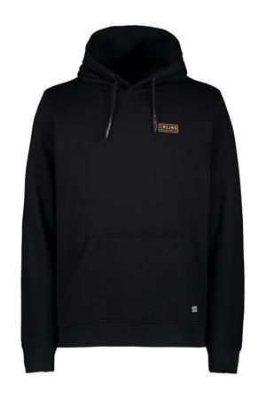 hoodie Steven met printopdruk zwart