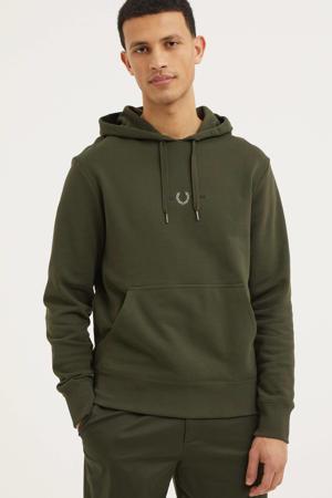 hoodie olijfgroen