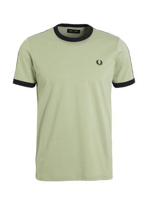 T-shirt Ringer groen