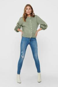 ONLY vest ONQCASEY groen, Groen