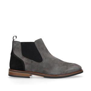 suède chelsea boots grijs
