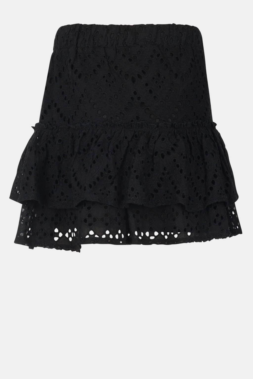 Jill & Mitch by Shoeby mini rok Tropez zwart, Zwart