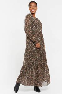 LOLALIZA gebloemde maxi jurk multi, Multi