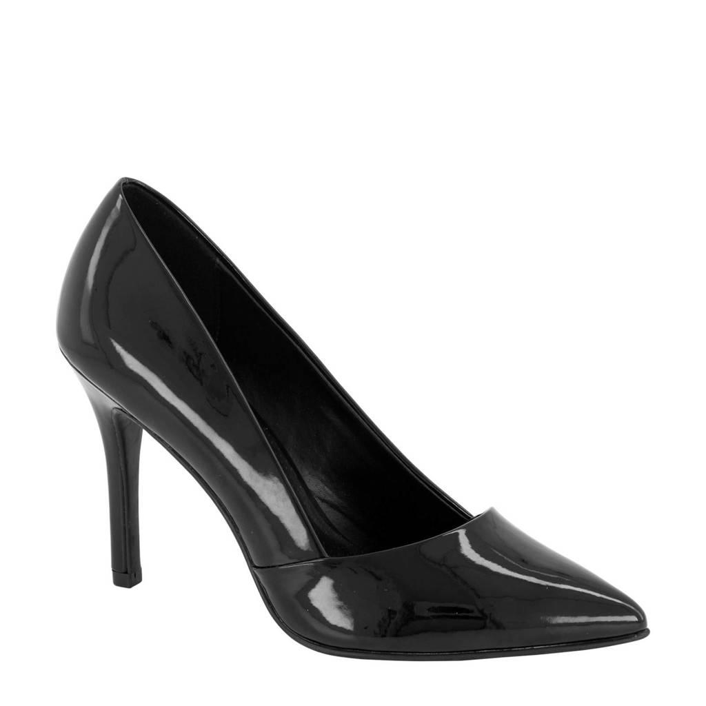 Graceland   lak pumps zwart, Zwart