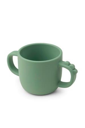 Peekaboo drinkbeker Croco Green