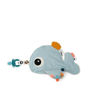 Cozy friend Wally Blue speen knuffel 25.5 cm