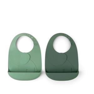 Peekaboo slab Elphee (set van 2) Green