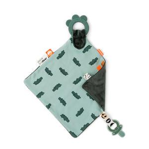 Comfort bijtring Croco Green