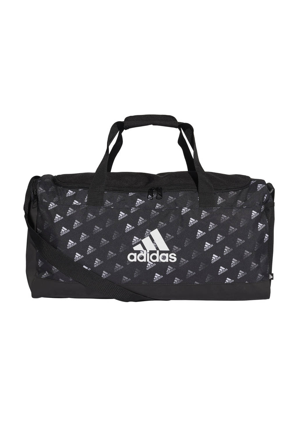 adidas Performance   sporttas zwart/wit, Zwart/wit