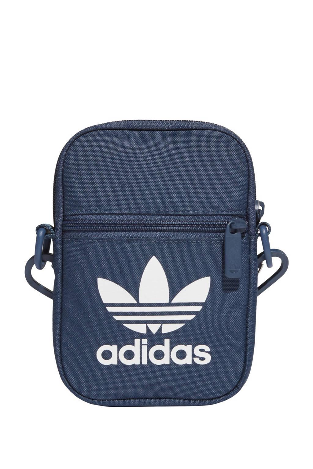 adidas Originals  Adicolor crossbody tas donkerblauw, Donkerblauw
