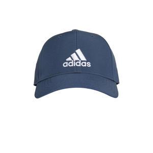 sportpet donkerblauw/wit
