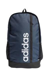 adidas Performance   rugzak Linear donkerblauw/zwart/wit, Donkerblauw/zwart/wit