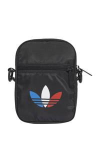 adidas Originals  Adicolor schoudertas zwart, Zwart