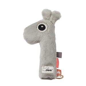 pieper rammelaar  Raffi Grey knuffel 16 cm
