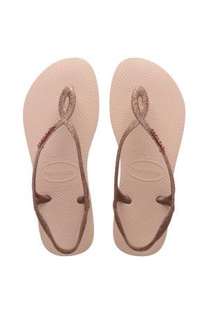 Luna Premium II  sandalen roségoud