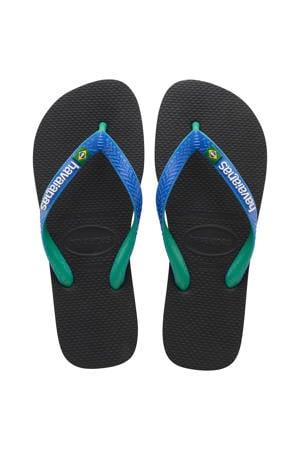 Brasil Mix  teenslippers blauw/multi