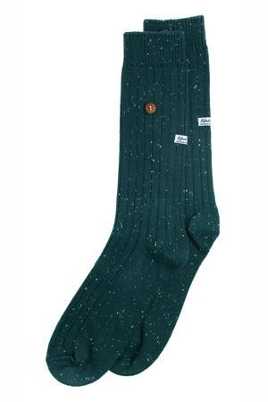 sokken Speckled Cotton donkergroen