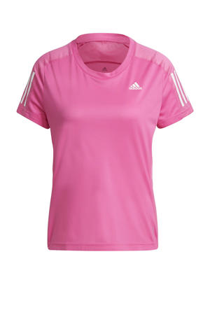 Own The Run hardloop T-shirt roze