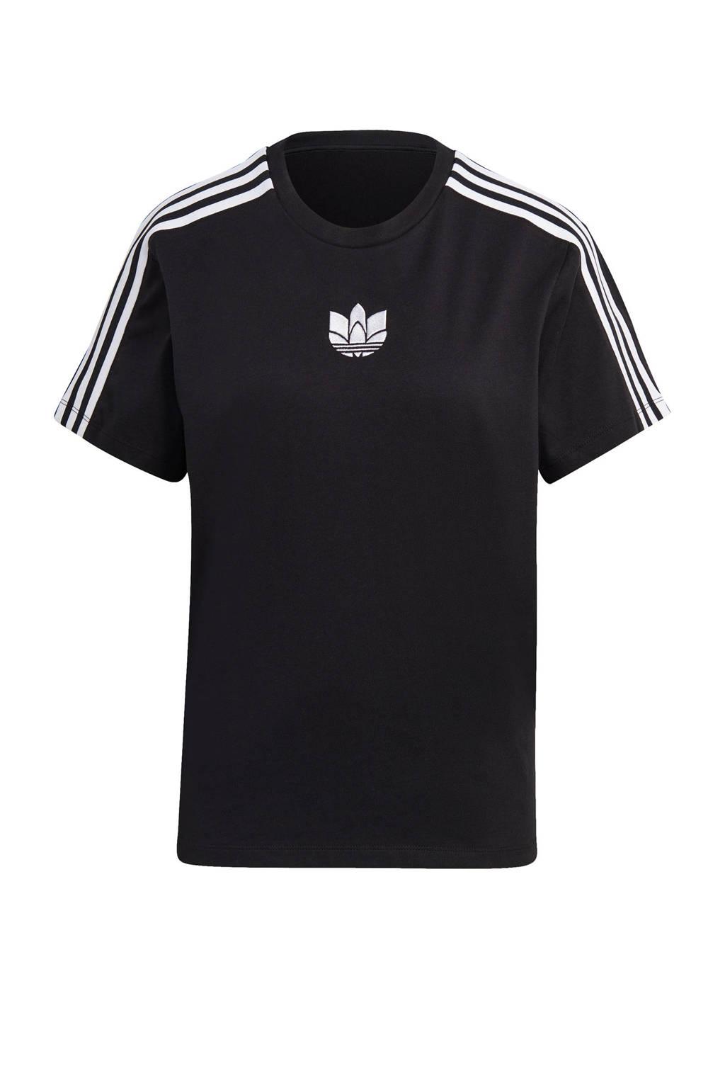 adidas Originals Adicolor T-shirt zwart, Zwart
