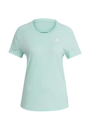Own The Run hardloop T-shirt mintgroen