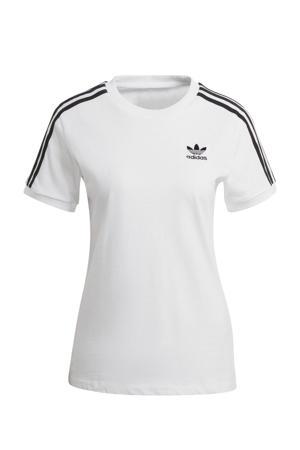 Adicolor T-shirt wit/zwart