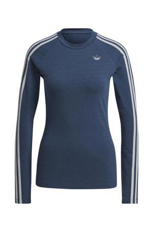 T-shirt donkerblauw/wit