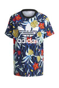 adidas Originals T-shirt donkerblauw/multi, Donkerblauw/multi