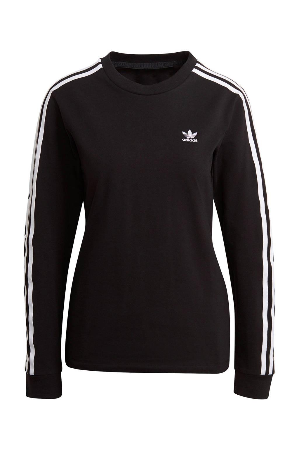 adidas Originals Adicolor longsleeve zwart, Zwart