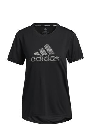 Designed4Training sport T-shirt zwart/wit