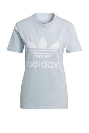 Adicolor T-shirt lichtblauw