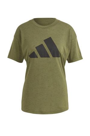 2.0 Sportwear sport T-shirt groen