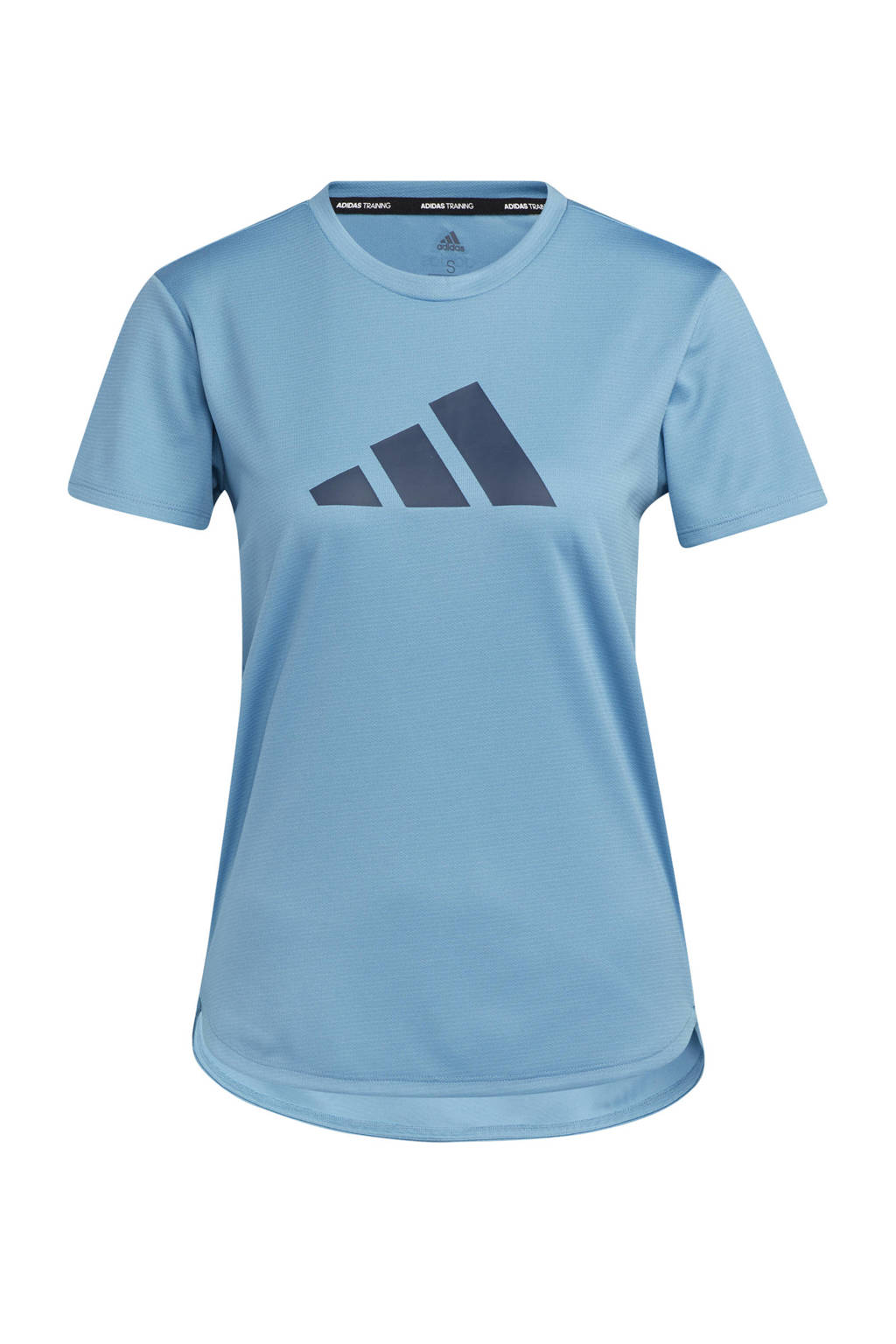 adidas Performance Designed4Training sport T-shirt lichtblauw, Lichtblauw