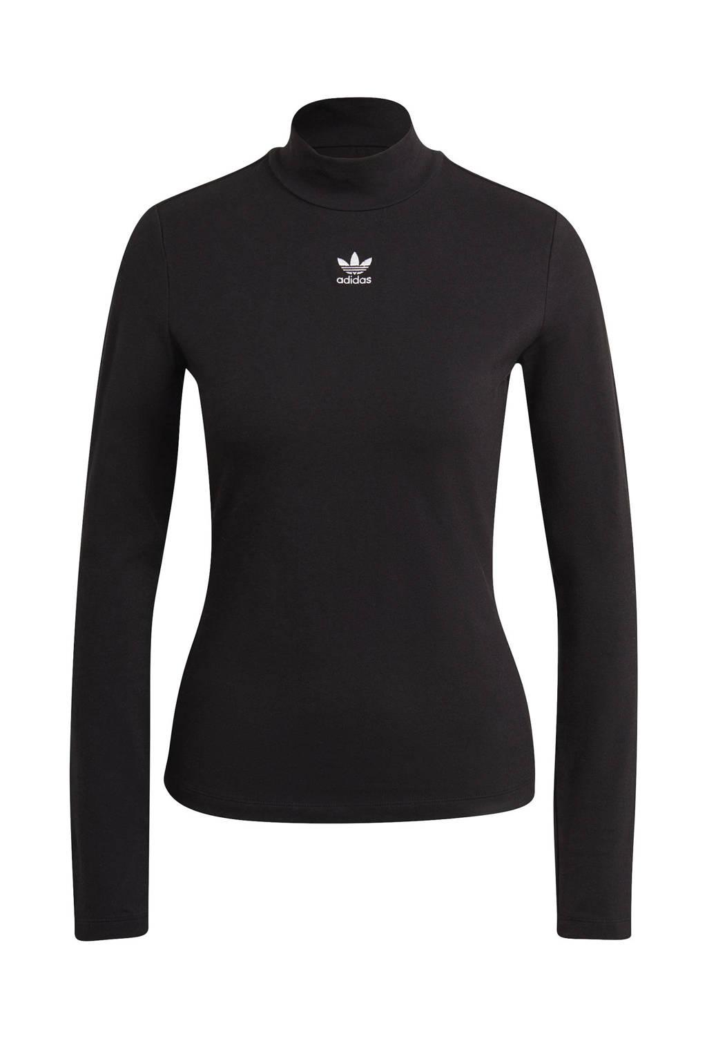 adidas Originals longsleeve zwart, Zwart