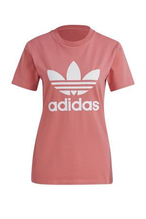Adicolor T-shirt lichtroze