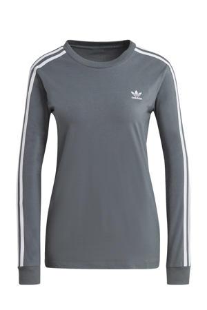Adicolor T-shirt grijsblauw