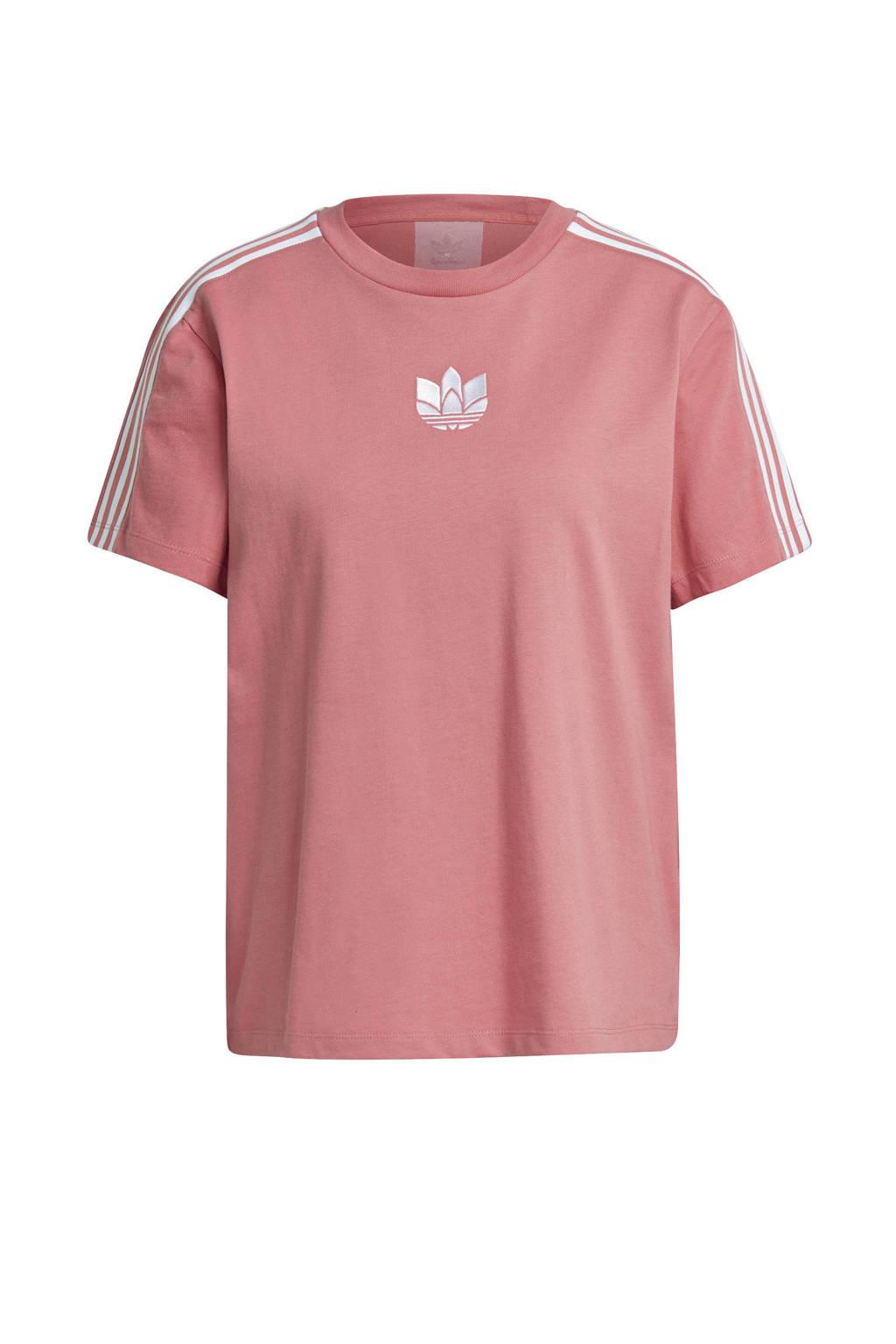 adidas Originals Adicolor T-shirt roze, Roze