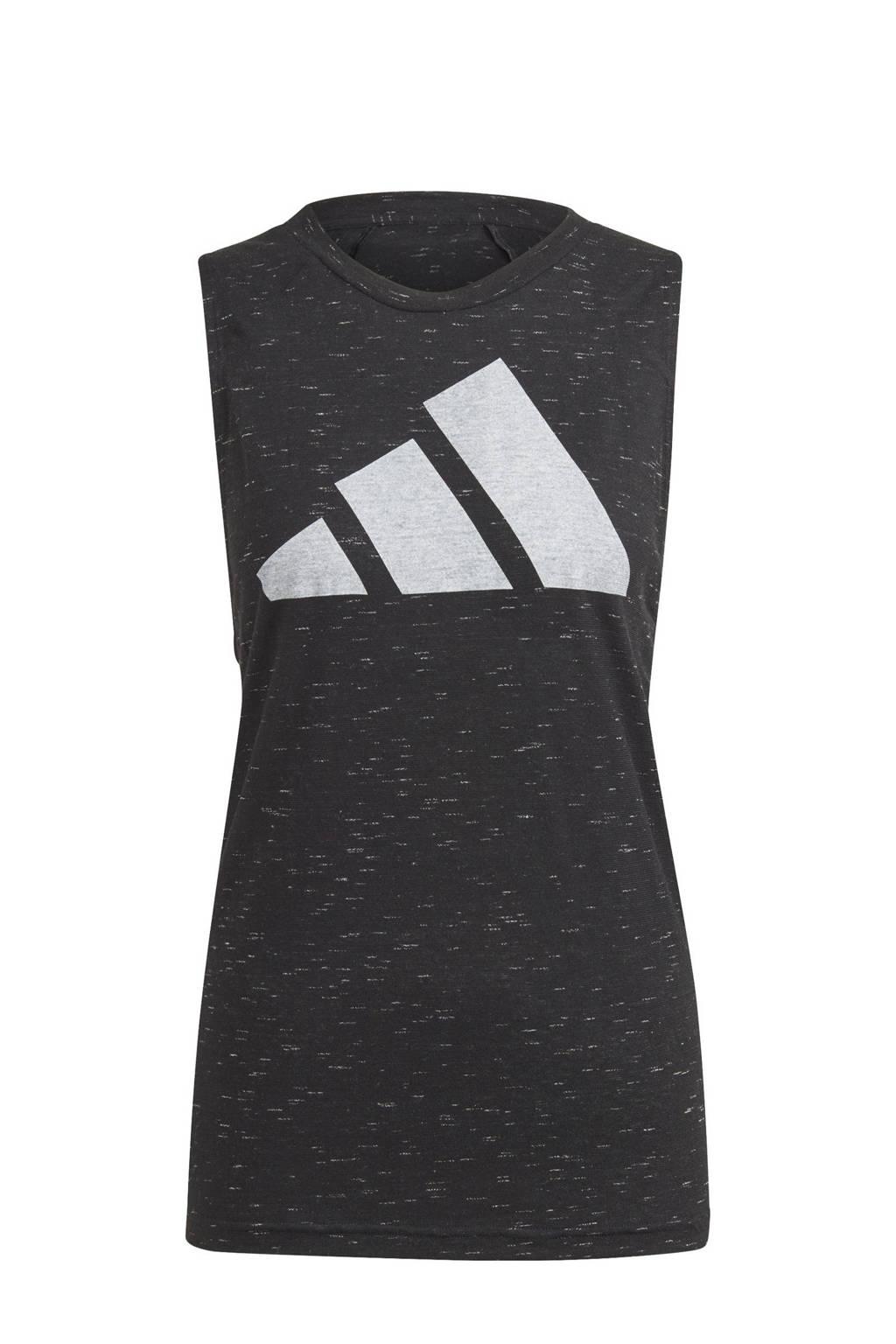 adidas Performance 2.0 Sportwear sporttop zwart, Zwart