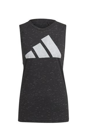 2.0 Sportwear sporttop zwart
