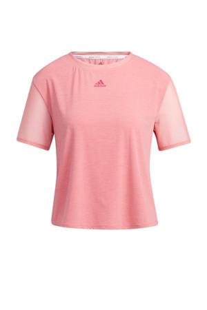 Dance sport T-shirt lichtroze