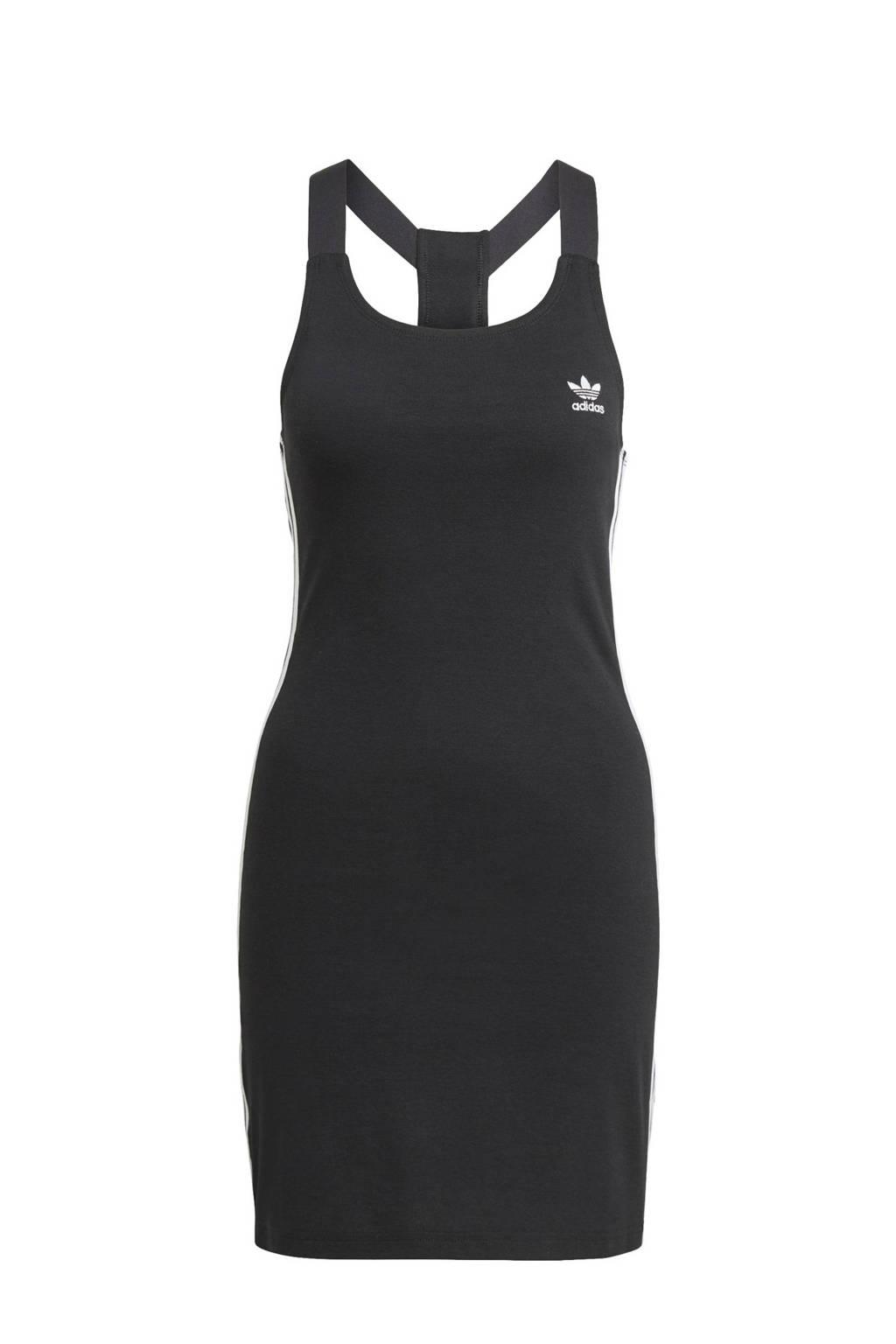adidas Originals Adicolor jurk zwart/wit, Zwart/wit