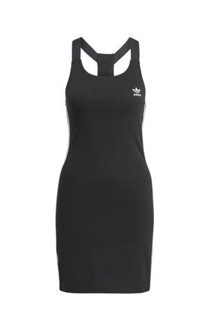 Adicolor jurk zwart/wit