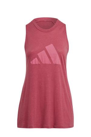 Plus Size 2.0 Sportwear sporttop roze