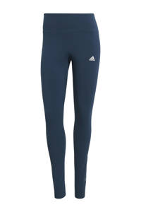 adidas Performance sportlegging donkerblauw, Donkerblauw