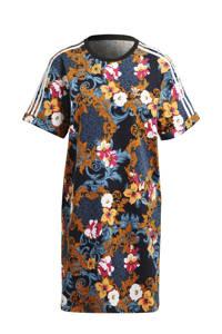 adidas Originals T-shirt jurk donkerblauw/multi, Donkerblauw/multi