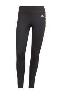 adidas Performance Designed2Move 7/8 sportlegging zwart/beige, Zwart/beige