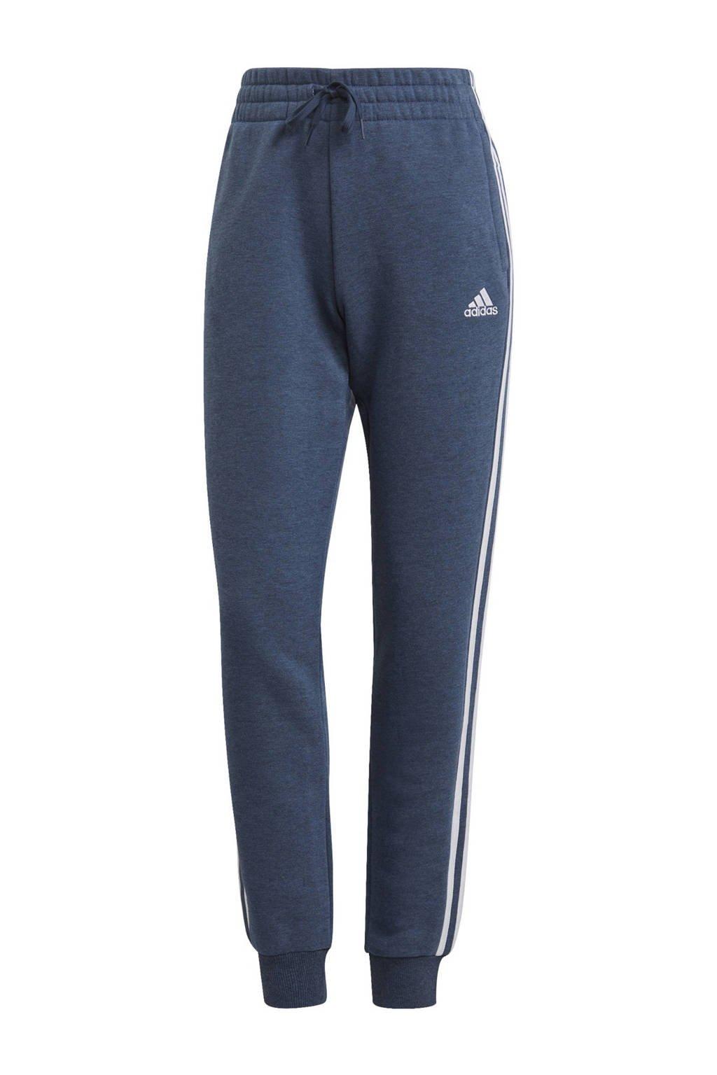 adidas Performance joggingbroek blauw/wit, Blauw/wit