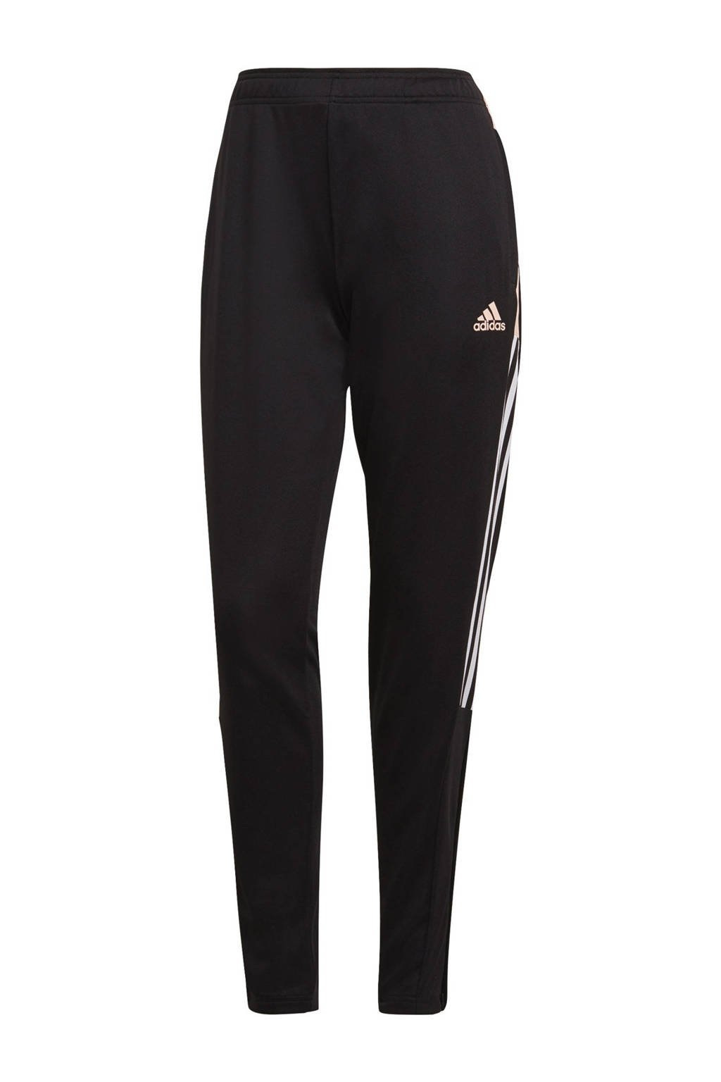 adidas Performance Tiro trainingsbroek zwart/roze, Zwart/roze