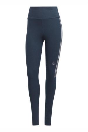 Adicolor legging donkerblauw