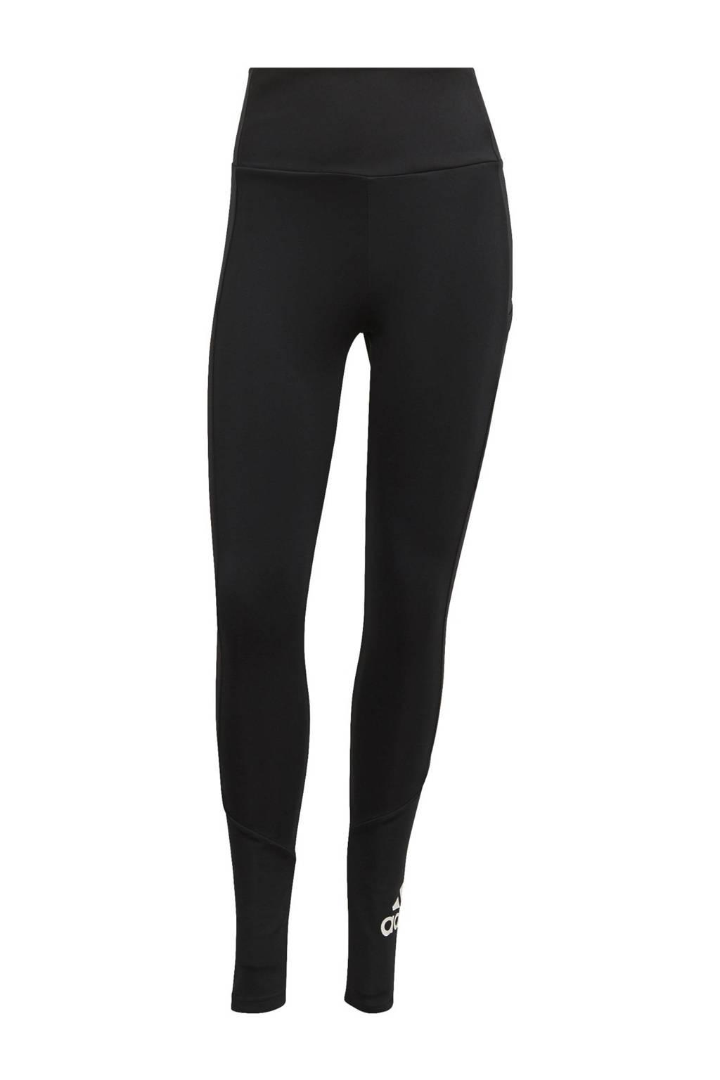adidas Performance Designed2Move sportlegging zwart/wit, Zwart/wit