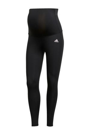 Designed2Move zwangerschaps sportbroek zwart/wit